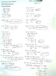 two step algebra equations worksheets solve multi step equations worksheet pre algebra two step equations worksheets