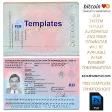 Template Cfnetwork Passport - Editable org