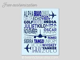 The international phonetic alphabet (ipa) is an academic standard that was created by the ipa is a phonetic notation system that uses a set of symbols to represent each distinct sound that exists in. Phonetic Alphabet Poster Airplane Nursery Art Airplane Wall Etsy Airplane Nursery Art Boy Room Art Airplane Nursery