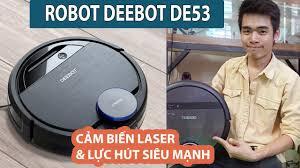 Review Robot Hút Bụi Và Lau Nhà ECOVACS DEEBOT DE53 - JOLAVN - YouTube