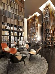 modern home library design. gallery of 25 modern home library design for casual look a