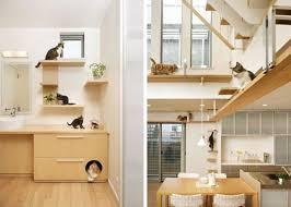 cat modern furniture. image of modern cat tree with litter box furniture