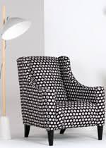 Made.com funky juke hexagon armchair image