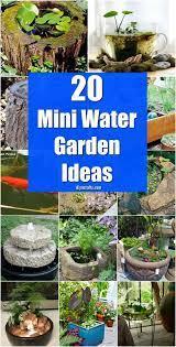 diy garden fountains water gardens diy