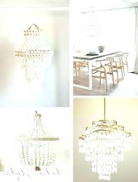 wood bead chandelier small white beaded chandelier wood bead chandelier white beaded chandelier wood beaded chandelier