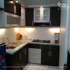 furniture design photo. Desain Kitchen Set Minimalis Dapur Kecil Loka Furniture Design Pantry Photo