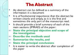 Writing A Research Paper From The Parts To The Whole Parts Of A