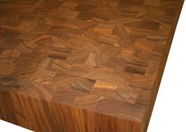 walnut butcher block countertop photo