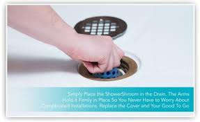 hair strainer for shower drain luxury showershroom blue the 2 hair catcher that prevents clogged