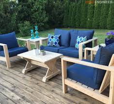 diy outdoor furniture plans. Small DIY Outdoor Coffee Table Plans - Rogue Engineer Diy Furniture T
