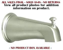 bathtub water spout bathtub water faucet series tub spout bathtub water spout leaking how to replace bathtub water spout