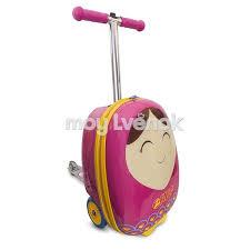 <b>Самокат</b> - <b>чемодан Betty ZC04092 ZINC</b> - 5037970040922