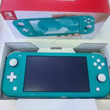 Máy Nintendo Switch Lite Turquoise Cũ Fullbox