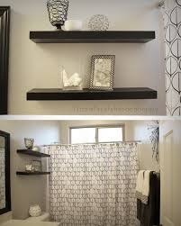 Design Sponge Bathrooms Fit Crafty Stylish And Happy Guest Bathroom Makeover Blue And