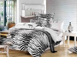 black and white zebra print bedding set queen size duvet cover quilt bed in a bag linen sheet bedspread bedclothes 100 cotton in bedding sets from home