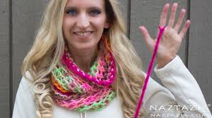 Knitted Infinity Scarf Pattern Simple Design