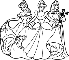 Small Picture Disney All Princess Coloring Pages Coloring Coloring Pages