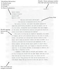 Writing An Essay In Mla Format Mla Format For Essay Essays Examples Argumentative Research Paper