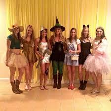 wizard of oz girls group costume squad diy â