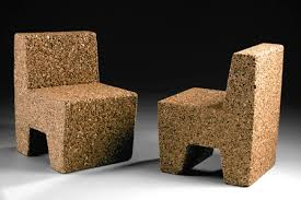 Eco friendly furniture Architectural Lushome Cork Furniture Eco Friendly Contemporary Furniture Design