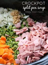 crockpot split pea soup family fresh