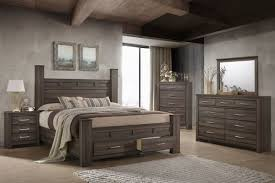 Images bedroom furniture Grey King Bed Dresser Mirror Chest Nightstand Gardnerwhite Bedroom Furniture With Extras