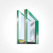 laminated safety glass from the inside