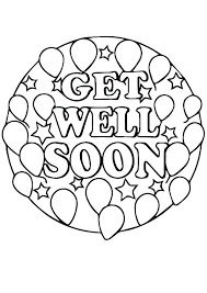 Get Well Soon Coloring Pages Disney Princesses Feel Better For Kids