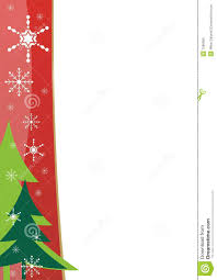Christmas Border Template Stock Vector Illustration Of Drawing