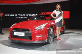 nissan new car release in indiaNissan GTR  Auto Expo 2016 Live