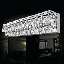full image for swarovski crystal bathroom lighting fixtures modern sconce light wall mirror front fixture bedroom