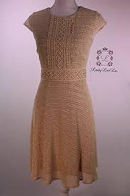 Antonio Melani New Edana Lace Cap Sleeve Dress Chamomile