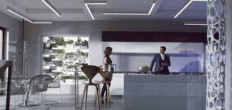 linear suspended lighting. LED Custom Set Decoration Lighting Fabrication (High CRI) Linear Suspended