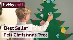 <b>Felt Christmas Tree</b> | Hobbycraft - YouTube