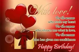 Happy Birthday Love Quotes For Her Interesting Happy Birthday Love Quotes For Him Or Her Happy Birthday Wishes