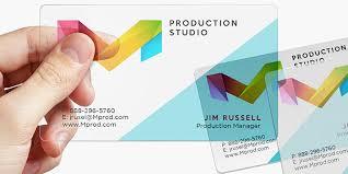 Translucent Plastic Business Cards Plastic Business Card Printing