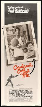 Cornbread Earl And Me 1975 Original Insert Movie Poster