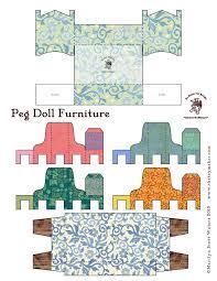 109 best paper dolls furniture images on Pinterest