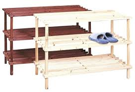 medium size of white wooden shoe cabinet with 5 compartments wood storage 3 racks 4 tier