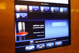 Gold Vending Machine Prices Adorable Las Vegas Raises The Gold Bar With A Gold ATM Las Vegas Blog
