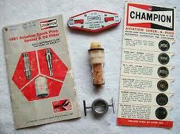 Champion Aviation Spark Plug Gap Chart Box Of 10 Champion Aviation Spark Plug P N Rhb 32e