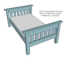 simple bed plans. Simple Bed Plans E