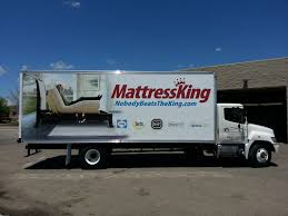 mattress king commercial. Mattress King Box Truck Wrap Commercial