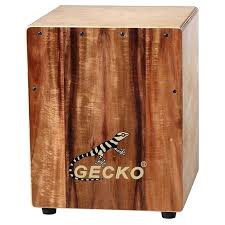 drum box you sit on professional wood made gecko mini for kindergarten and play