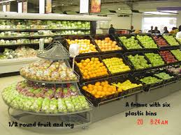 Fruit And Vegetable Stands And Displays Magnificent Fruit And Vegetable Holder Nemiri