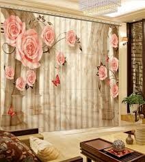 Printed Curtains Living Room Popular 3d Window Curtain Printed Buy Cheap 3d Window Curtain