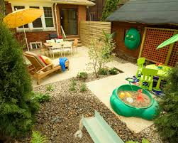 Backyards For Kids Interesting Small Backyard Ideas For Kids Pics Decoration