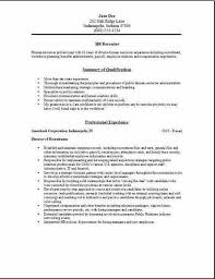 Recruiter Resume Examples Best Cover Letter Exemple And Hr Recruiter Resume Examples Samples Human