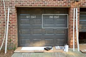 Garage Door Painting Painting Our Garage Doors A Richer Deeper Color Young  House Love Images