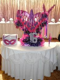 Sweet 16 Masquerade Ball Decorations